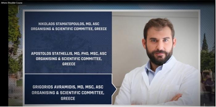 2ο Διεθνές Σεμινάριο Αρθροσκόπησης και Χειρουργικής Ώμου στην Αθήνα